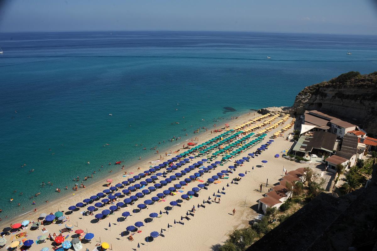 Foto spiaggia Le Roccette Tropea