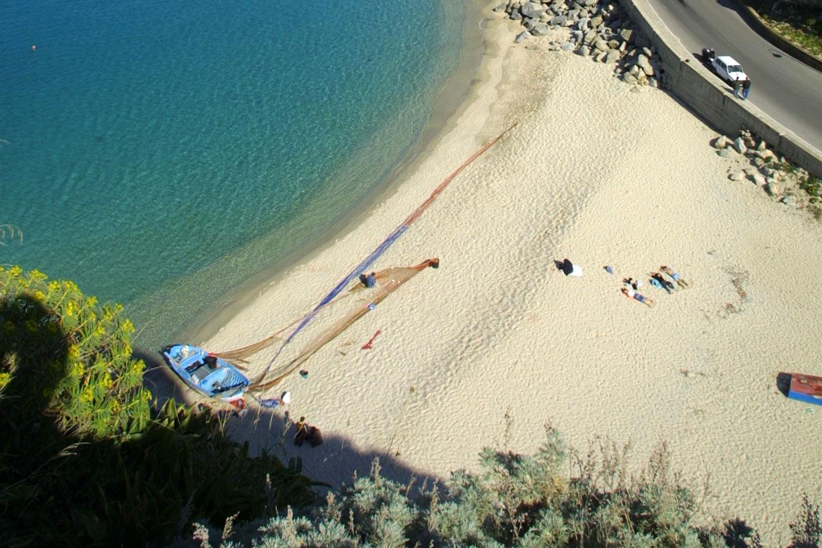 Foto spiaggia Mare Piccolo Tropea