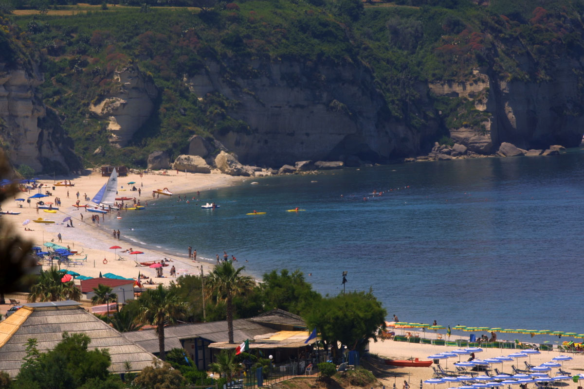 Spiaggia Tropea Passo Cavaliere
