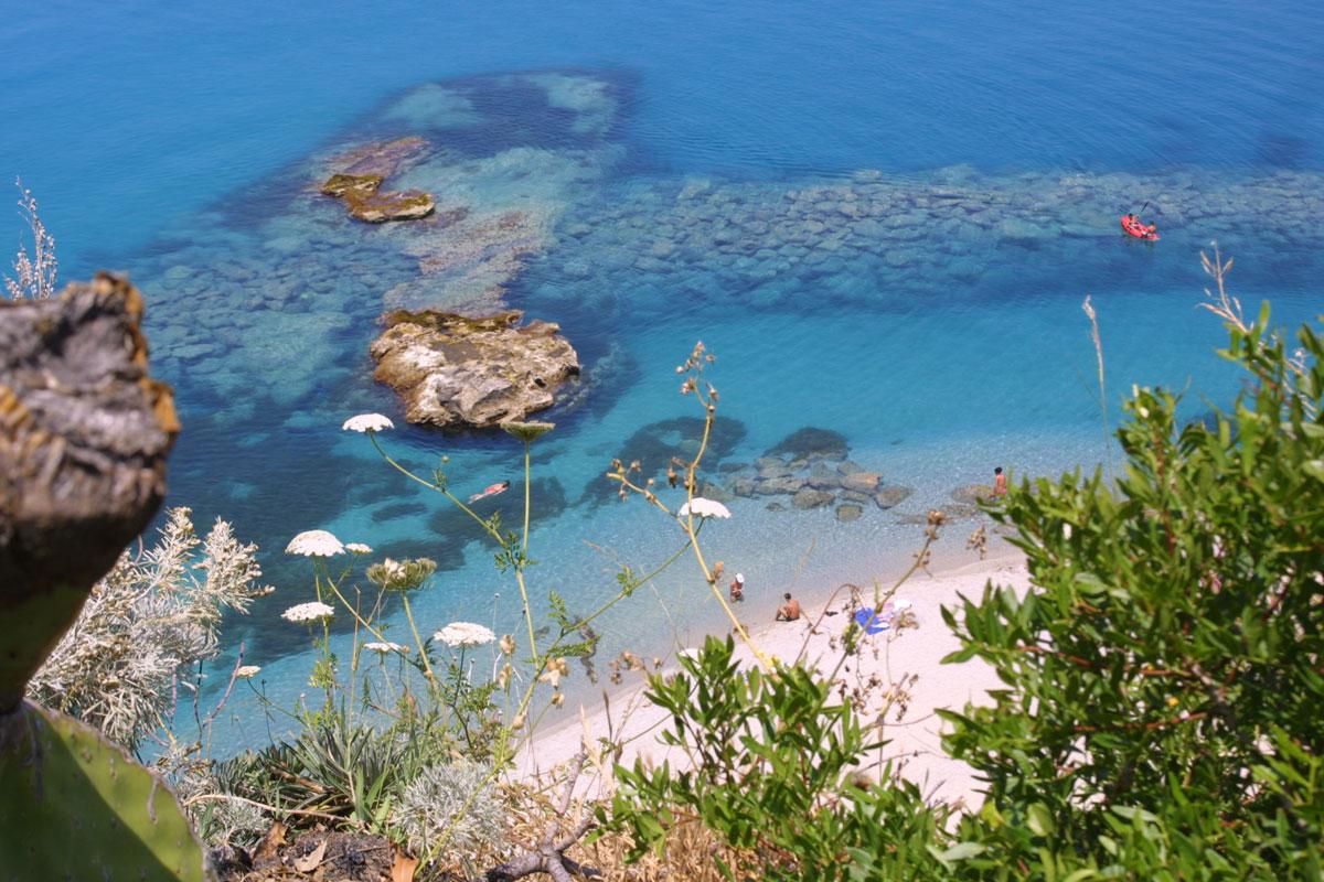 Spiaggia Tropea U Palumbaru