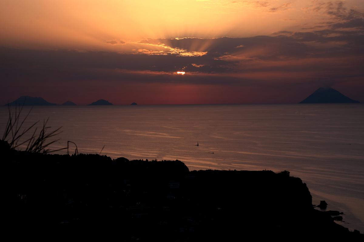 Foto tramonto Capo Vaticano