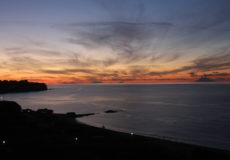 Tramonto da Tropea sulle isole Eolie