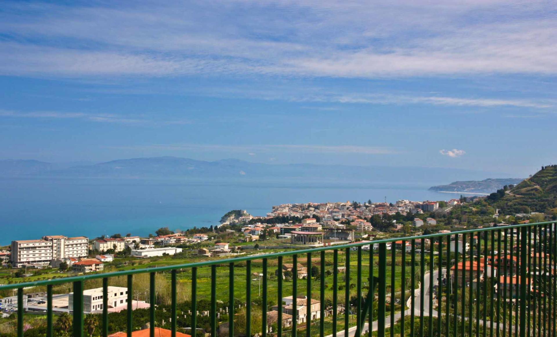 Villetta panoramica Tropea